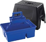 Miller Mfg Duratote Step Stool Blue