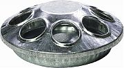 Miller Mfg Galvanized Round Feeder 6 Inches