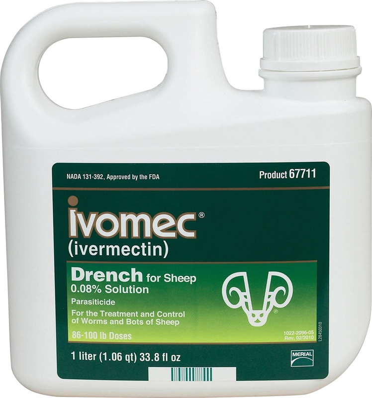 Merial Wormer Ivomec Sheep Dr 960ml - Merial 41264 - Sheep/Goat/Pig